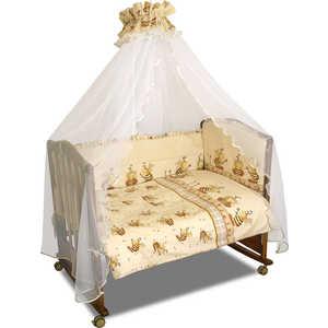 Фотография товара комплект постельного белья Сонный Гномик ''Пчёлки'' (бежевый) 732 (192917)