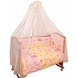 Фотография товара комплект постельного белья Сонный Гномик ''Мишкин сон'' (розовый) 303/2 (192975)