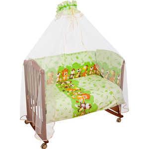 Фотография товара комплект постельного белья Сонный Гномик ''Африка'' (зеленый) 331/3 (192990)
