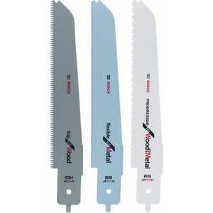 Набор пильных полотен Bosch 3шт для PFZ500E (2.608.656.934) набор пильных полотен для пеноматериалов bosch gsg 300