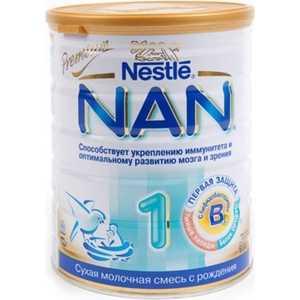 NAN Молочко детское 1 0-6 мес 800 гр 7613032405700