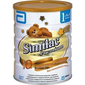 Similac Молочная смесь ''Premium 1'' 0-6 мес., 900гр 8427030004426