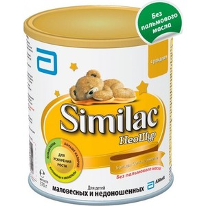 Similac Молочная смесь для недоношенных детей ''Neosure'' 0 -12 мес., 370гр 8427030003320