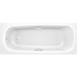 Ванна стальная BLB Universal hg 170x75 см 3.5 мм с отверстиями для ручек (B75H handles) ручки для ванны blb a00acrfr1 280 мм