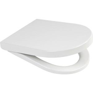 Сиденье для унитаза Roca Victoria nord дюропласт белое (ZRU9000023) сиденье для унитаза carina дюропласт с микролифтом