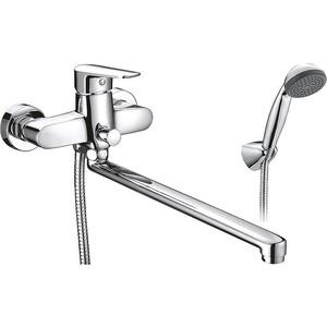 Смеситель для ванны SMARTsant Инлайн излив 350 мм с аксессуарами (SM103502AA)