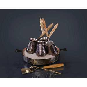 """Турецкий набор для приготовления кофе Станица """"Виноград"""" 0.18 л КО-26001"""