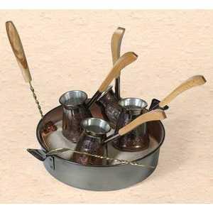 Фотография товара турецкий набор для приготовления кофе Станица ''Восточный'' 0.18 л КО-26002 (194450)