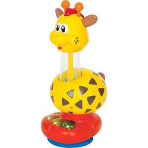 kiddieland развивающая игрушка осьминог на присоске 038190 Kiddieland Развивающая игрушка Жираф KID 029900