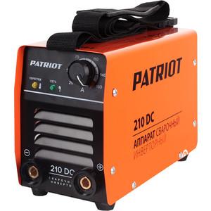 Сварочный инвертор PATRIOT 210DC  сварочный инвертор patriot power 210dc