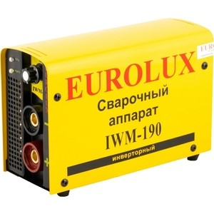 Фотография товара сварочный инвертор Eurolux IWM-190 (198383)