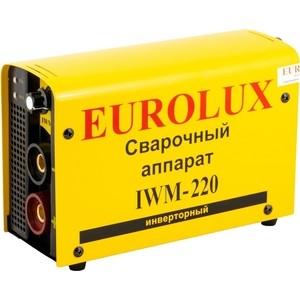 Сварочный инвертор Eurolux IWM-220 инверторный сварочный аппарат eurolux iwm 160