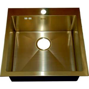 Мойка кухонная ZorG inox (SZR-51 bronze) мойка кухонная zorg inox szr 44 bronze