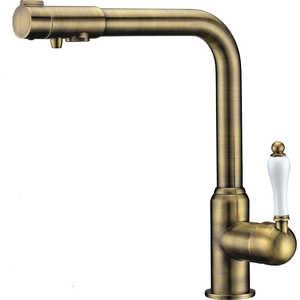 Смеситель для кухни ZorG Clean water (ZR 320 YF-50 BR)