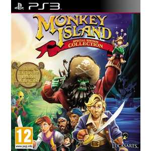 Игра для PS3  Monkey Island Special Edition Collection (PS3, английская версия)