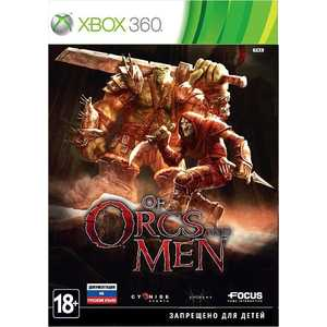 Игра для Xbox 360  Of Orcs and Men (Xbox 360, русская документация)