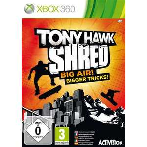 Игра для Xbox 360  Tony Hawk: SHRED (Игра+беспроводной контроллер-скейт) (Xbox 360, английская версия)