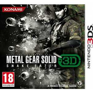 Игра для 3DS  Metal Gear Solid: Snake Eater 3D (3DS, английская версия)