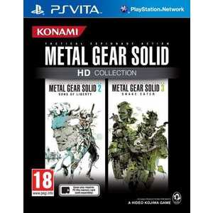 Игра для PS Vita  Metal Gear Solid HD Collection (PS Vita, английская версия)