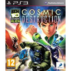 Игра для PS3  Ben 10: Ultimate Alien Cosmic Destruction (PS3, английская версия)
