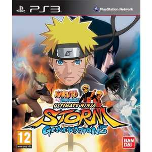 Игра для PS3  Naruto Shippuden: Ultimate Ninja Storm Generations (PS3, английская версия)