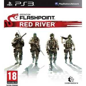 Игра для PS3  Operation Flashpoint: Red River (PS3, английская версия)
