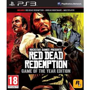 Игра для PS3  Red Dead Redemption Game of the Year (PS3, английская версия)