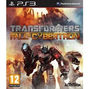 Игра для PS3  Transformers: Fall of Cybertron (PS3, английская версия)