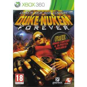 Игра для Xbox 360  Duke Nukem Forever Kick Ass Edition (Xbox 360, английская версия)
