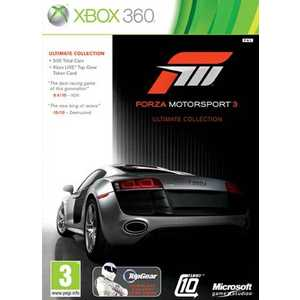 Игра для Xbox 360  Forza Motorsport 3 Ultimate Collection (Xbox 360, английская версия)