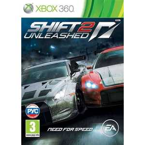 Игра для Xbox 360  Need for Speed Shift 2 Unleashed (Xbox 360, русская версия)