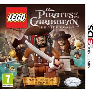 Игра для 3DS  LEGO Pirates of the Caribbean The Video Game (3DS, английская версия)