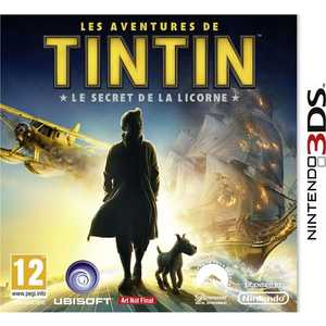 Игра для 3DS  The Adventures of Tintin: The Secret of the Unicorn (3DS, английская версия)