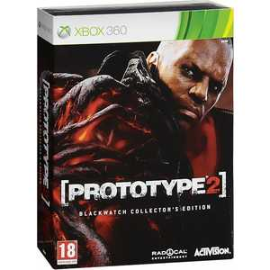 Игра для Xbox 360  Prototype 2: Blackwatch Collectors Edition (Xbox 360, английская версия)