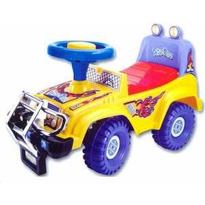 Каталка Kids Rider Джип музыкальная (желтый) 1365YS каталки kids rider 1103