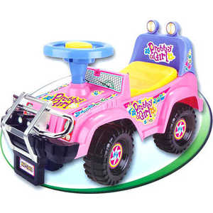 Каталка Kids Rider ''Джип'' музыкальная (розовый) 1365PS