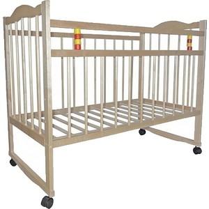 Промтекс Кроватка детская, колесо/качалка кд 1200 ксп
