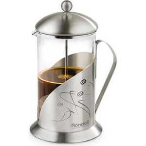 Френч-пресс Rondell Tasse 600 мл RDS-101 чайник заварочный rondell tasse rds 101 0 6л
