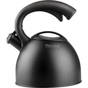 Чайник Rondell Schwarz 2 л RDS-104 чайник rondell rds 363 2 2 л металл чёрный