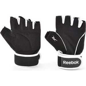 Перчатки для фитнеса Reebok (серый/белый) [RAEL-11134BK] размер L-XL