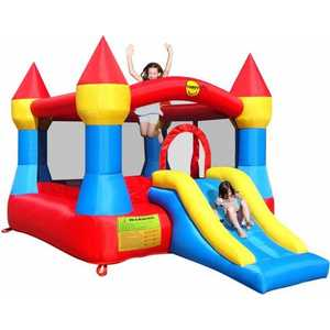 "Надувной батут Happy Hop ""Castle Bouncer with Slide"" 9017"