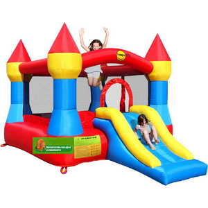 "Надувной батут Happy Hop ""Castle Bouncer with Slide"" 9017P"
