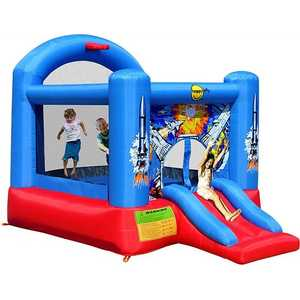 "Надувной батут Happy Hop ""Space Slide and Hoop Bouncer"" 9304B"