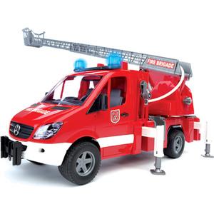 Bruder Пожарная машина MB Sprinter с лестницей и помпой с модулем со световыми и звуковыми эффектами 02-532