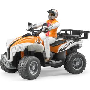 Bruder Квадроцикл с гонщиком 63-000 какой мотоцикл бу можно или квадроцикл за 30 000