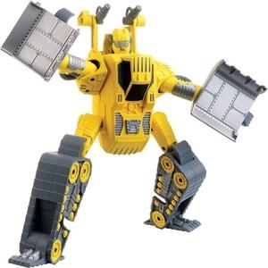 Hap-p-Kid Робот трансформер 4113T 3d головоломка робот красный 90151