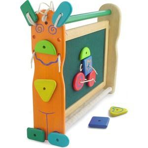 Im toy Двусторонняя доска для рисования с набором фигурок на липучках