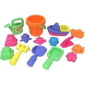 Набор игрушек Keenway 16 штук для песочницы (в сетке) 30312