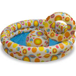 Бассейн Intex пузыри 122х25 см с мячом и кругом 59460
