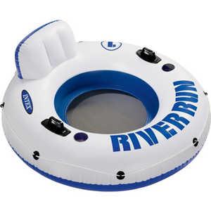 Круг Intex с держателем 135 см 58825 intex надувной круг для плавания 76 см